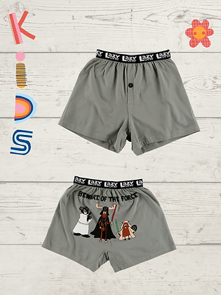 Beware of the Force Kid Boxers