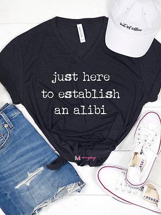 Alibi Tee