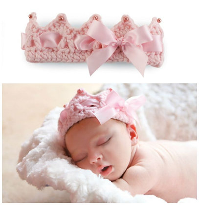 Baby Crochet Crown