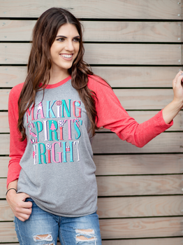Making Spirits Bright Tee
