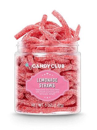Candy Club Lemonade Straws