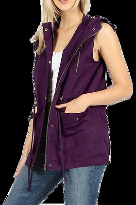 Utility Vest, Purple