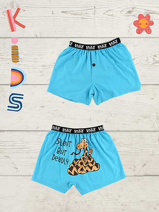 Silent Butt Deadly Kid Boxers