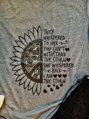 I Am The Storm Tee