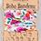 Thumbnail: Pink Floral Polka Dot Boho Bandeau