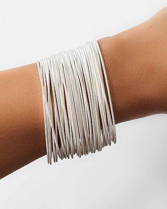 Bella Bracelets, Silver