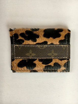 Leather Hide Credit Card Wallet