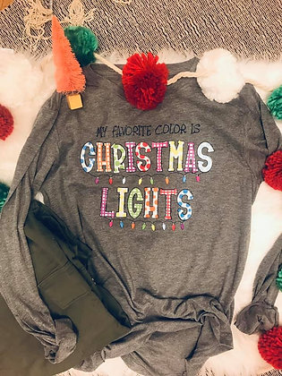 Christmas Lights Tee