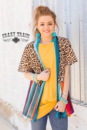 Leopard and Serape Cardigan