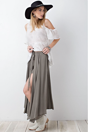 Maxi Skirt With Shorts