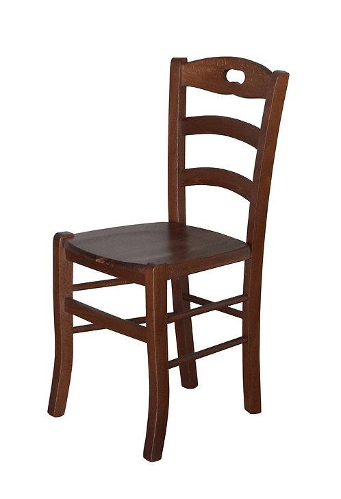 sedia AIA seduta in legno