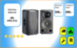 wynajem nagłośnienia - zestaw HK Audio Contour Array