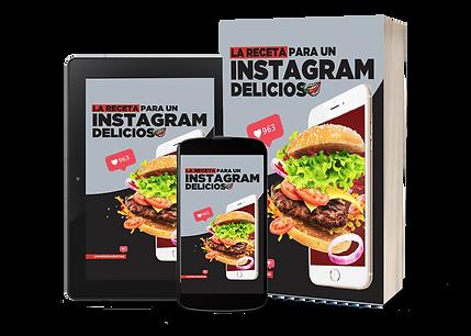 Curso Instagram Delicioso, gastronomía y