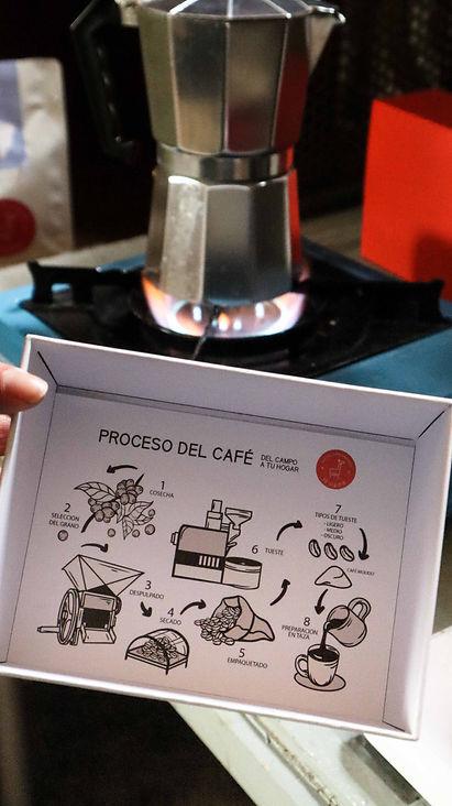 Café en Madrid