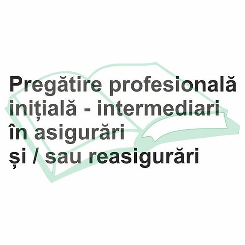 Pregatire initiala intermediari-eLearning
