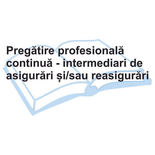 Pregatire continua intermediari-eLearning