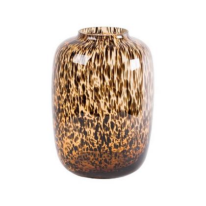 Artic transparant cheetah vaas
