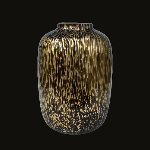 Artic gold cheetah vaas