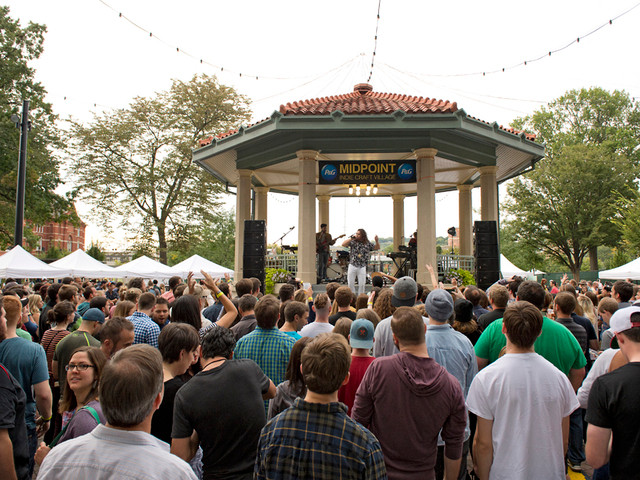 2012 was the first year for Washington park to host Midpoint Headliners Photo By: David Sorcher