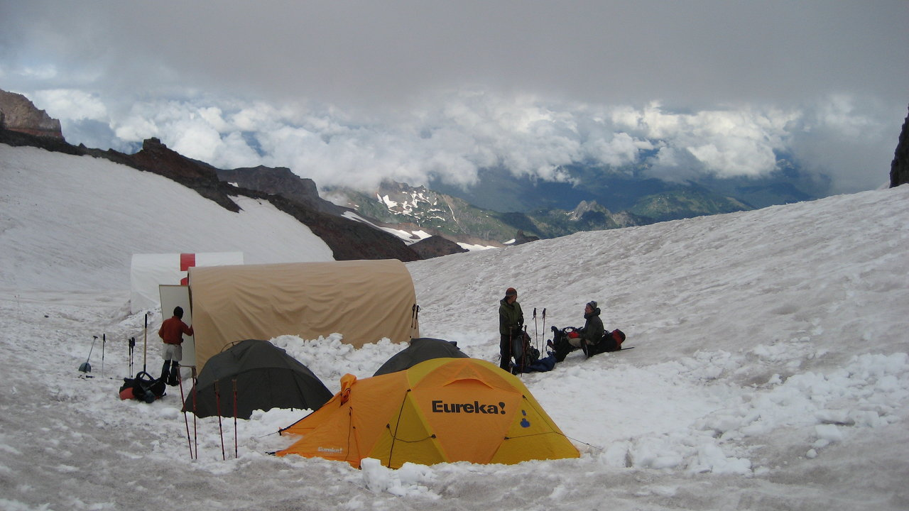 At Camp Muir for 'A Restless Giant'