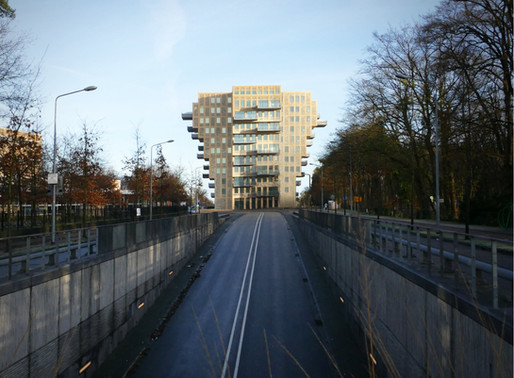 Belvedere Residential Tower nominated for the Concrete Prize