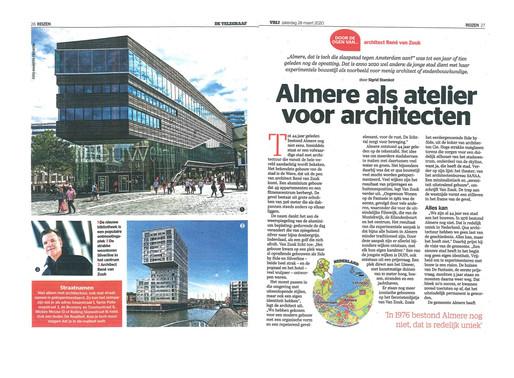 Article in the Telegraaf