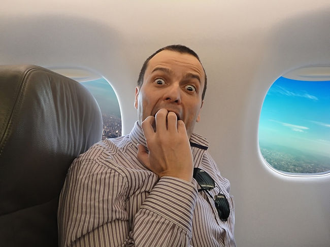 Полетать на самолете. Краткое руководство для тех, кто боится