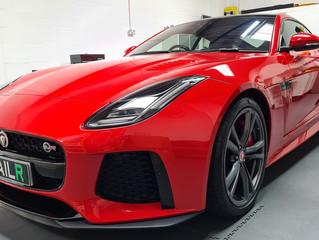 Jaguar F-Type SVR Enhancement Detail