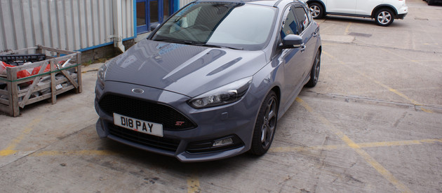 New Car Protection Detail - Focus ST