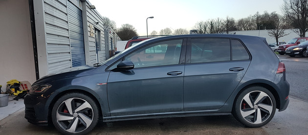 VW Golf GTI New Car Protection Detail