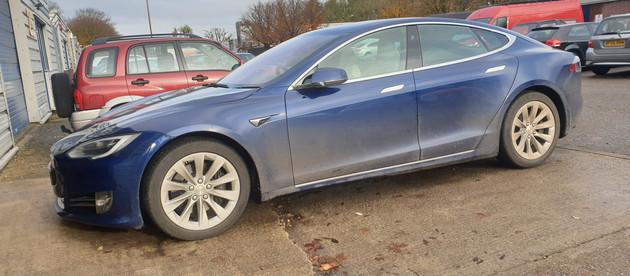Tesla Model S Detail