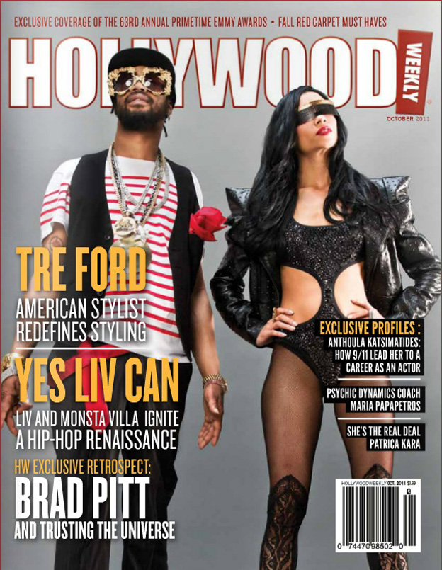 Hollywood Weekly Cover Oct 2011-Liv