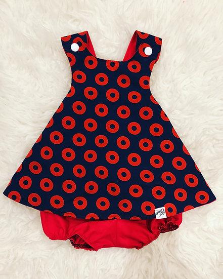 Phish Pinafore Dress- Fishman Donut Dress