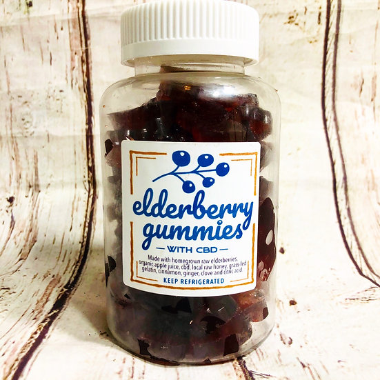 Elderberry Gummies LOCAL PICKUP ONLY