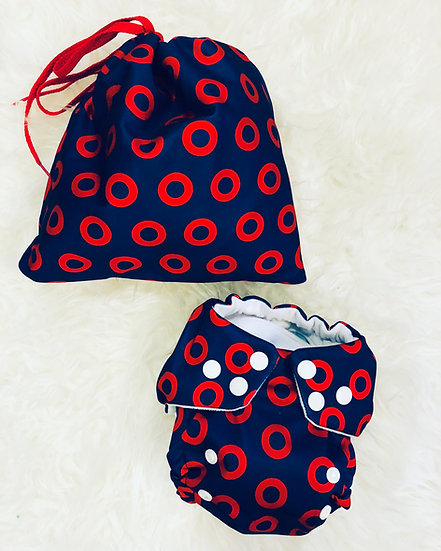 Fishman Donut Cloth Diaper