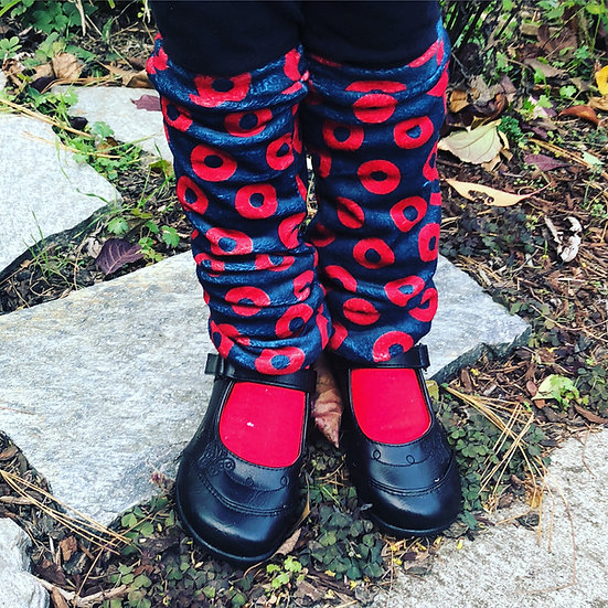 Fishman Donut Leg Warmers for Children and Adults