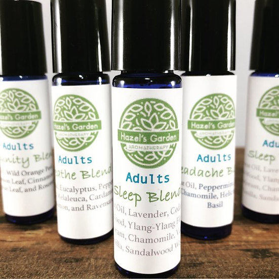 Essential Oil Roller Bottle Blends | Aromatherapist Formulated