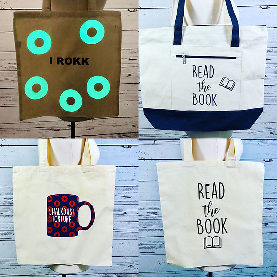 Phish Tote Bags