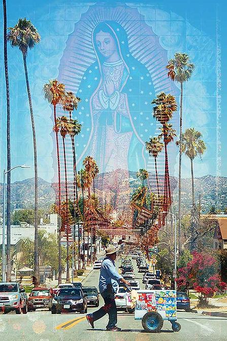 double exposure Virgin Mary photograph | Castro Frank
