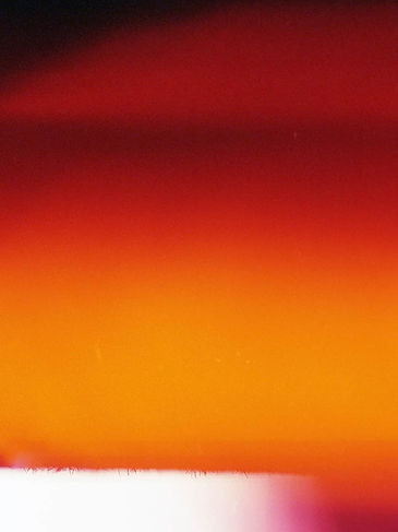 Castro Frank Image from Ethereal 35mm series orange and red hues