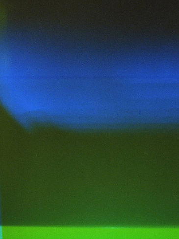 Castro Frank Image from Ethereal 35mm series with blue and green hues retro vibes