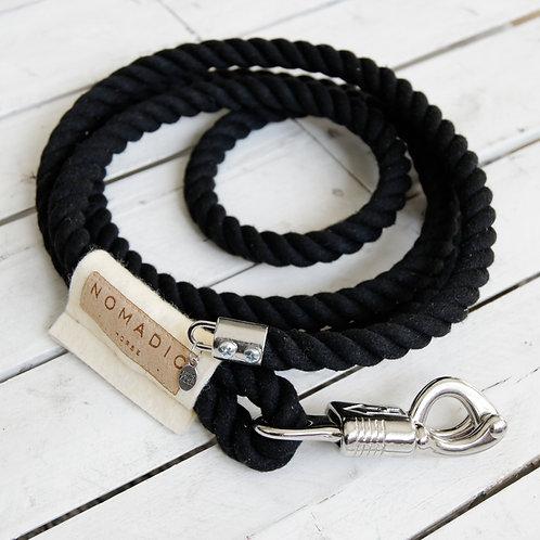 Puma | Bawełniany uwiąz bezpieczny w kolorze czarnym
