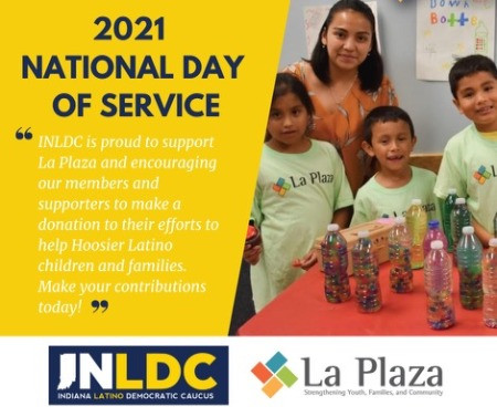 National Day of Service Virtual Fundraiser for La Plaza