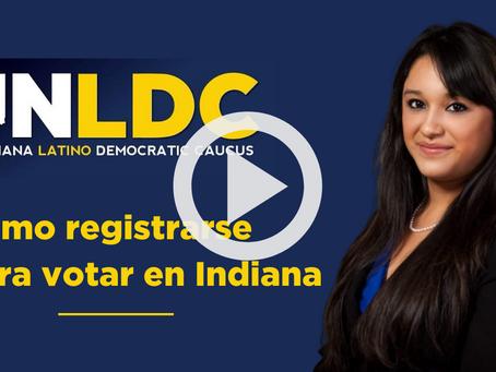 INLDC VIDEO: Como registrarse para votar en Indiana