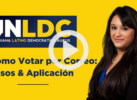 INLDC Video: Cómo Votar por Correo: Pasos & Aplicación