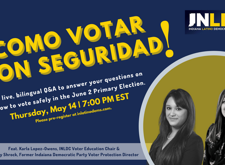INLDC Webinar: Como votar con seguridad/How to safely vote