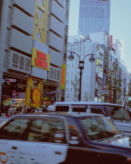 tower records on #film #tokyo #archive.j