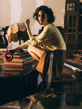 Jasmina Al Hazari Hugo Boss & Vogue