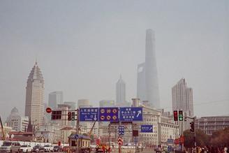 favorite shot taken in #smoggy #shanghai