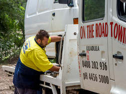Professional Towing Service with over 94 years of combined experience in the towing industry.